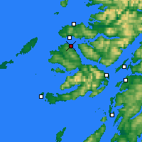Nearby Forecast Locations - Tobermory - Map