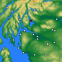 Nearby Forecast Locations - Loch Lomond - Map