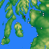 Nearby Forecast Locations - Rothesay - Map