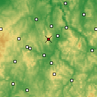 Nearby Forecast Locations - Schwelm - Map