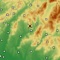 Nearby Forecast Locations - Cihoc - Map
