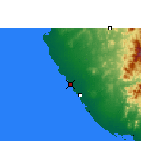Nearby Forecast Locations - Mastabah - Map
