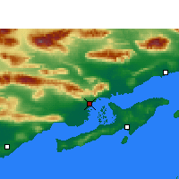 Nearby Forecast Locations - Khamir - Map