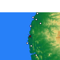 Nearby Forecast Locations - Dahanu - Map