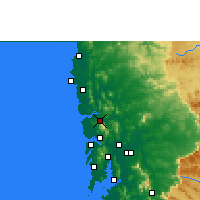 Nearby Forecast Locations - Shirsad - Map