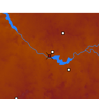 Nearby Forecast Locations - Gariep Dam - Map