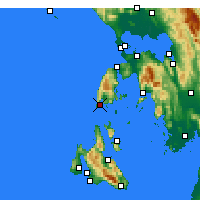 Nearby Forecast Locations - Levkada - Map