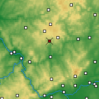 Nearby Forecast Locations - Wiesensee - Map