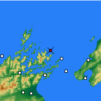 Nearby Forecast Locations - Marlborough S. - Map