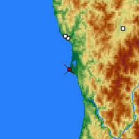 Nearby Forecast Locations - Crescent City - Map