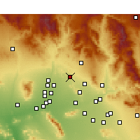 Nearby Forecast Locations - Phoenix Deer V. - Map