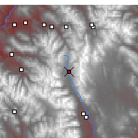 Nearby Forecast Locations - Leadville - Map