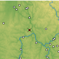 Nearby Forecast Locations - Beaver Falls - Map