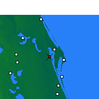 Nearby Forecast Locations - Titusville - Map