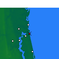 Nearby Forecast Locations - Naval Station Mayport - Map
