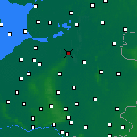 Nearby Forecast Locations - Zwolle - Map