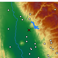 Nearby Forecast Locations - Oroville - Map