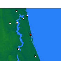 Nearby Forecast Locations - St Augustine - Map