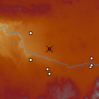 Nearby Forecast Locations - Jerome - Map