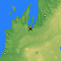 Nearby Forecast Locations - Traverse - Map