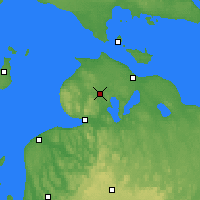 Nearby Forecast Locations - Pellston - Map
