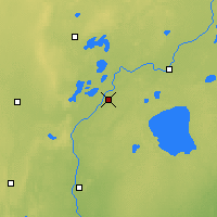 Nearby Forecast Locations - Brainerd - Map