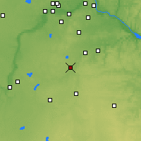 Nearby Forecast Locations - Faribault - Map