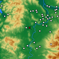 Nearby Forecast Locations - McMinnville - Map