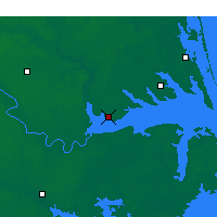 Nearby Forecast Locations - Edenton - Map