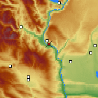 Nearby Forecast Locations - Wenatchee - Map