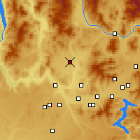 Nearby Forecast Locations - Deer Park - Map