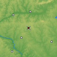 Nearby Forecast Locations - Mineral Point - Map