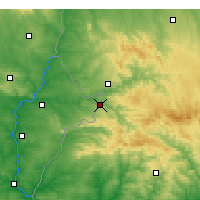 Nearby Forecast Locations - Barrancos - Map