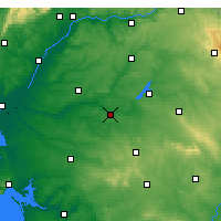Nearby Forecast Locations - Mora - Map