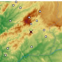 Nearby Forecast Locations - Fundao - Map