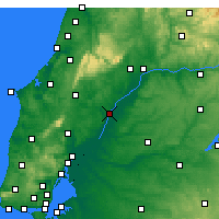 Nearby Forecast Locations - Santarém - Map