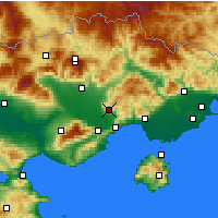 Nearby Forecast Locations - Filippoi - Map