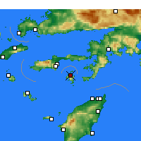 Nearby Forecast Locations - Symi - Map