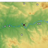 Nearby Forecast Locations - Mérida - Map