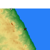 Nearby Forecast Locations - Marsa Alam - Map