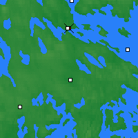 Nearby Forecast Locations - Varkaus - Map