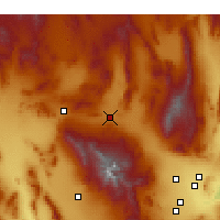 Nearby Forecast Locations - Indian Springs - Map