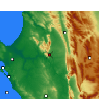 Nearby Forecast Locations - Piketberg - Map