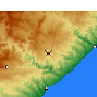 Nearby Forecast Locations - Butterworth - Map