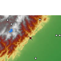 Nearby Forecast Locations - Yopal - Map