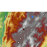Nearby Forecast Locations - Zipaquirá - Map