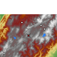 Nearby Forecast Locations - Tunja - Map