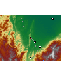 Nearby Forecast Locations - Petrolea - Map