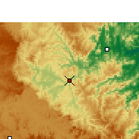 Nearby Forecast Locations - Rio do Sul - Map