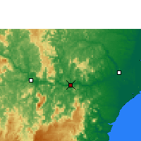 Nearby Forecast Locations - Colatina - Map